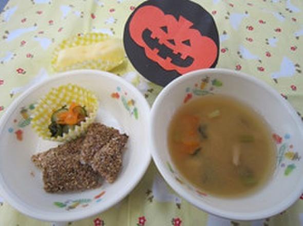 秋の給食メニュー@つくば市幼児食