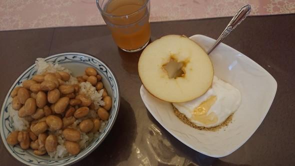 納豆×玄米ご飯×糠ヨーグルト♡