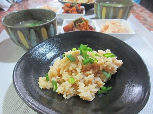 オッサンのブランチ ☆筍と芋+明太子☆