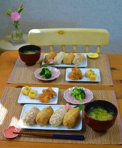 19.04.05(金)いなり寿司ランチ♬
