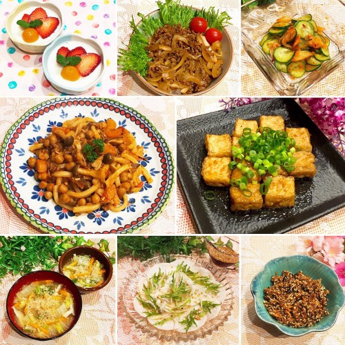 ひき肉とキムチの簡単☆どんぶりで晩御飯♫