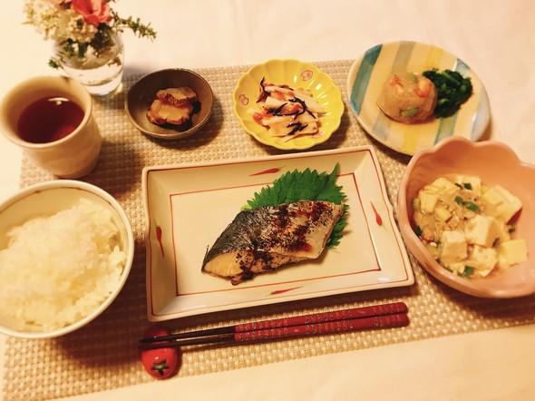 焼き魚な塩焼き〜ゆかり風味