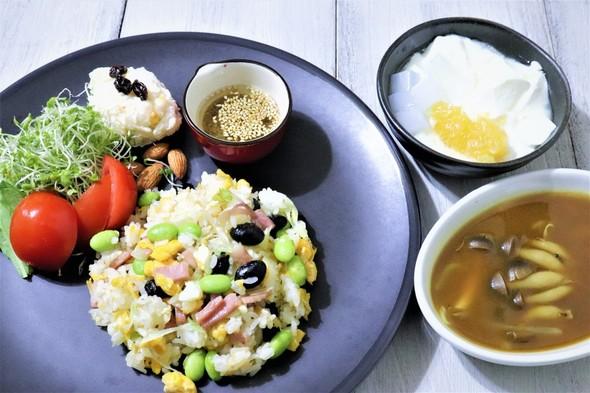 黒豆炒飯ランチ