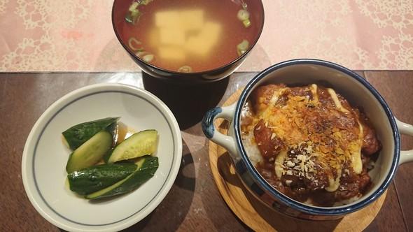 マヨ焼きカレー×豆腐のコンソメスープ♡