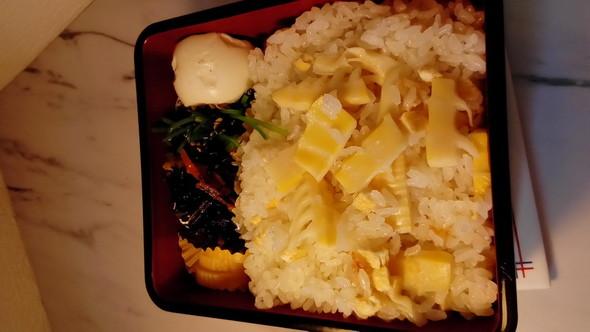 タケノコご飯お弁当