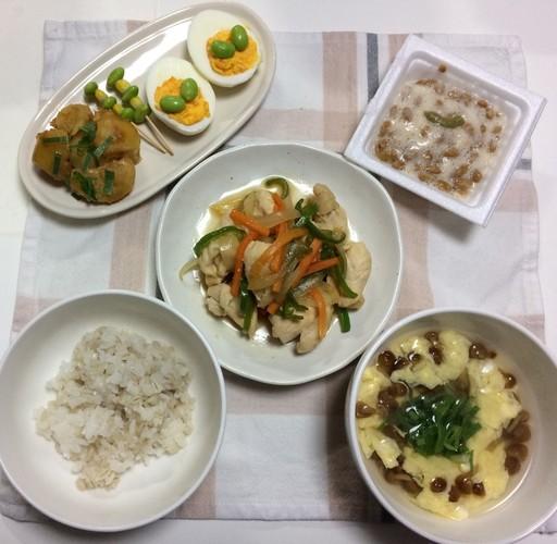 鶏胸肉♬野菜旨タレ炒め☆百陸拾捌夜
