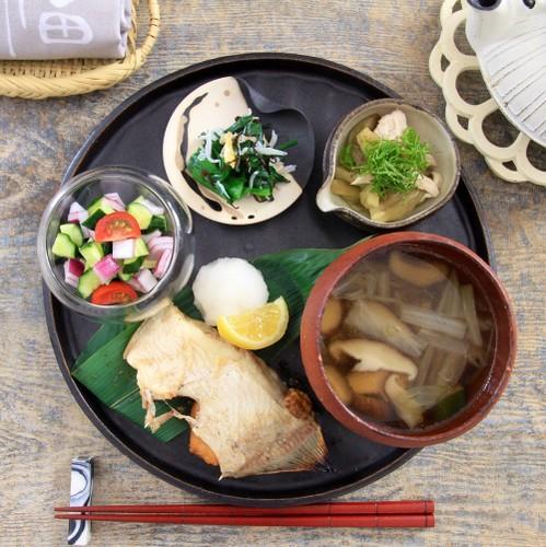 糖質制限のワンプレート♡焼き魚