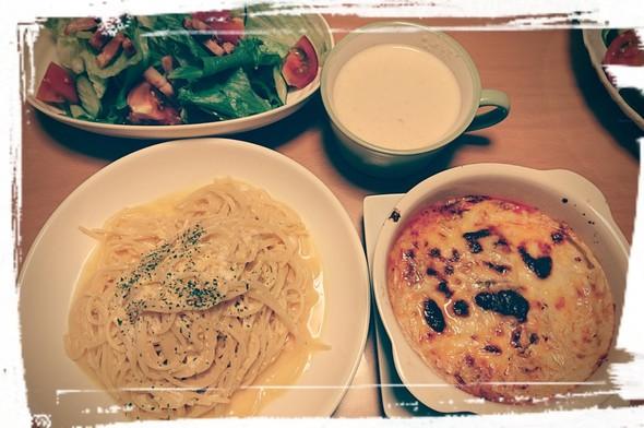 《メイン》ぺぺたまスパゲティ