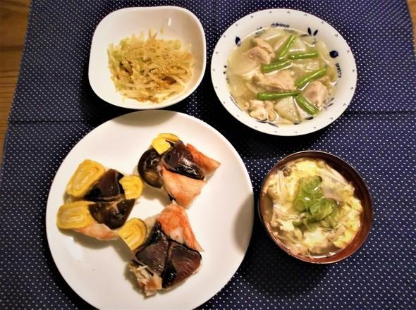食べ過ぎた‼なんちゃって押し寿司