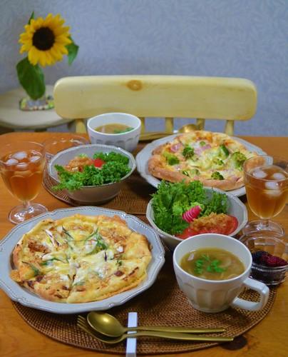 19.06.09(日)味噌&葱ピザ…♬