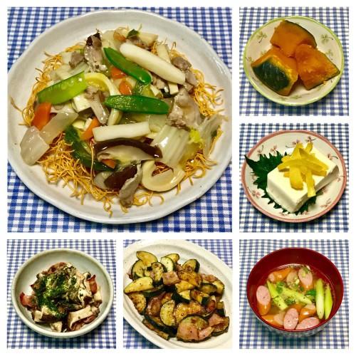 レンジで簡単♪ 本格八宝菜&中華丼