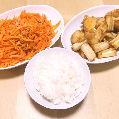 野菜多めの夕ごはん☆