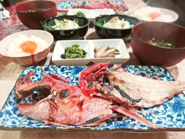 オッサンの晩飯 ☆金目鯛の干物☆