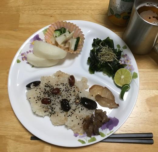 おふかしご飯の夕飯♪
