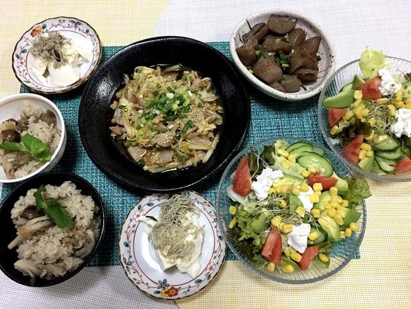 9/30やみつき豚と白菜のオイ酢ター炒め