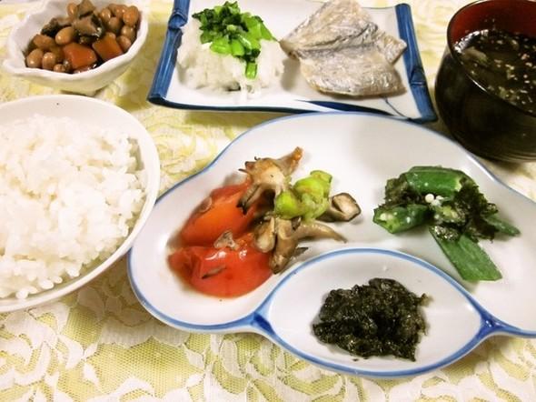 朝食に♡シンプル調理で素材の味を堪能