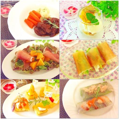 娘の誕生日の夕食♬