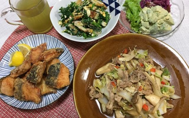 炒め 献立 野菜