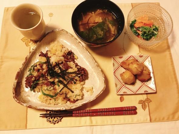 牛肉の混ぜ寿司✨19/12/25