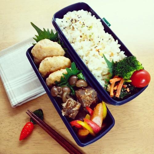 豆腐ハンバーグ弁当♪