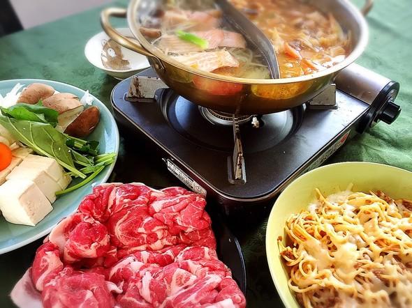 キムチ鍋と豚しゃぶの日