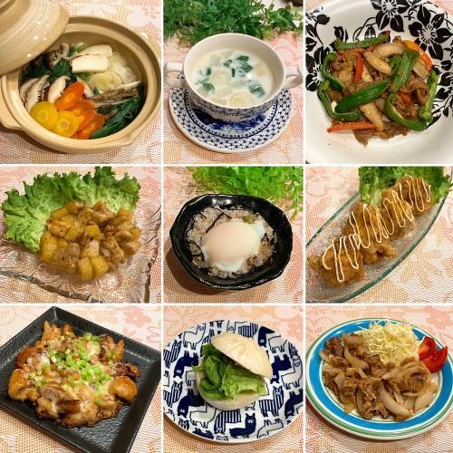 ごぼうとピーマン☆豚バラの炒め物で晩御飯