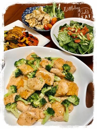 子供完食☆鮭マヨで夕ご飯✿