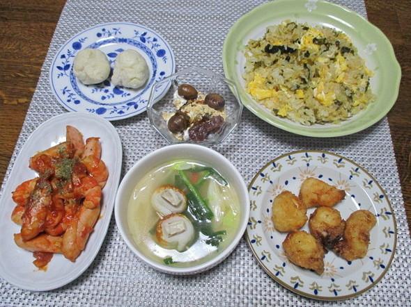 2020/2/26中華メニューで夕食