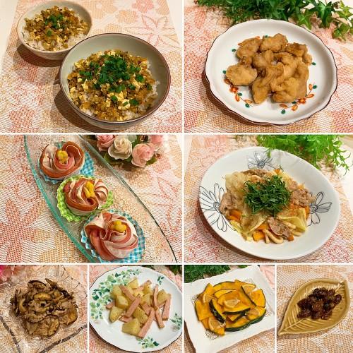 鶏胸肉でもしっかり塩唐揚げ&豆腐丼