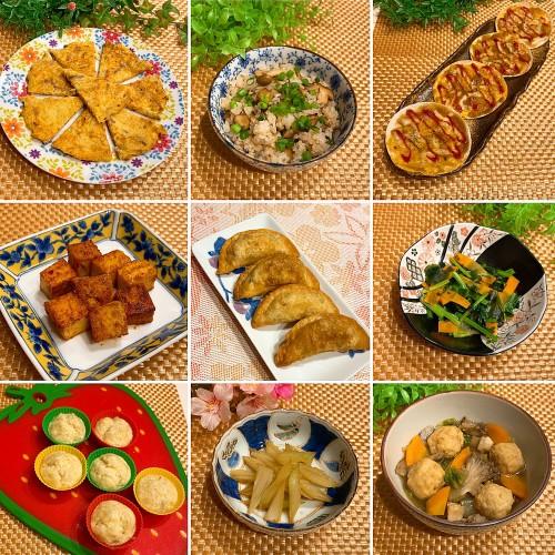 大根と人参の明太マヨ味ガレットで晩御飯