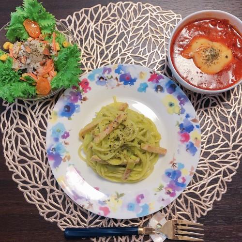 アボカドカルボナーラご飯