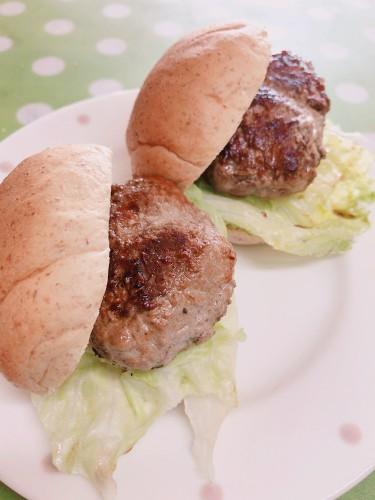 *ハンバーガー食べたい☆8日のランチ*
