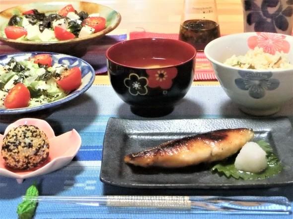 ♡さわらの西京焼きで美味しい夕ご飯♡