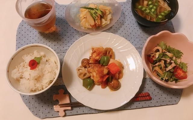 献立 野菜 炒め