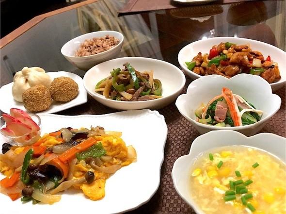 2020年6月6日(土) 中華料理の夕食