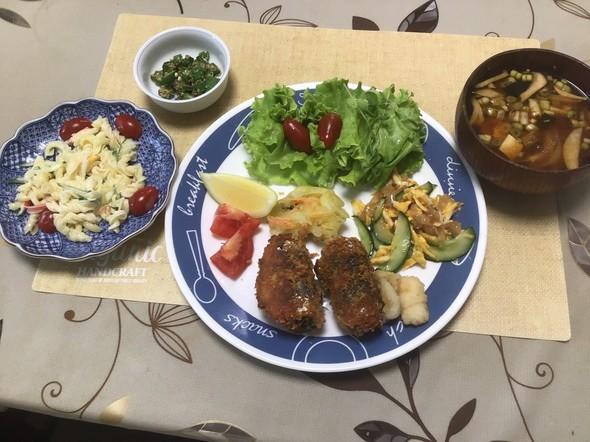 2020/6/29  長女の家の夕食