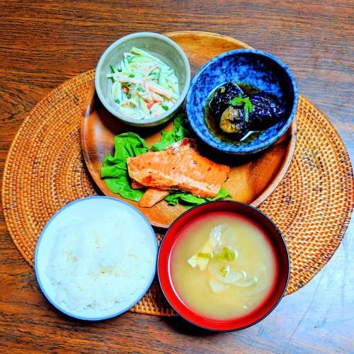 銀鮭ハラス塩麹焼