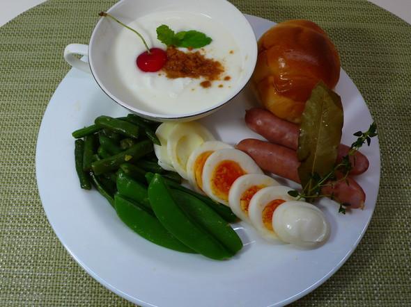 シニアの朝食♪