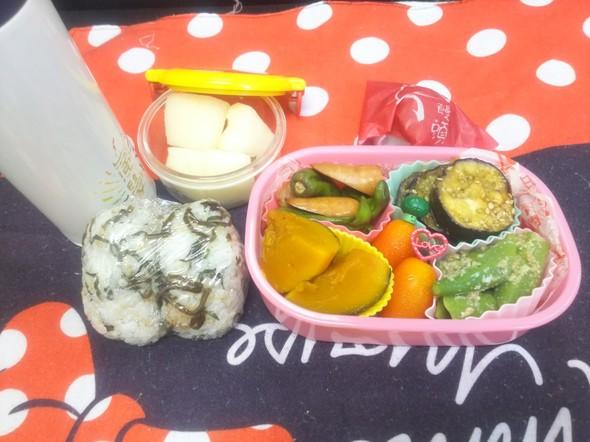 8月23日私のお昼のお弁当に!