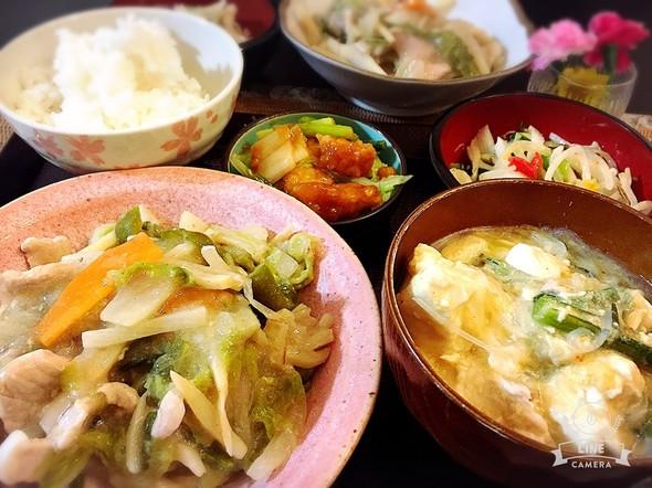 中華丼風などの日