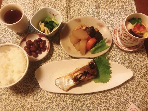 和食を楽しむ献立❣️