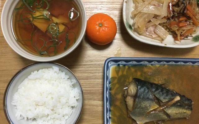 煮 味噌 献立 の 鯖