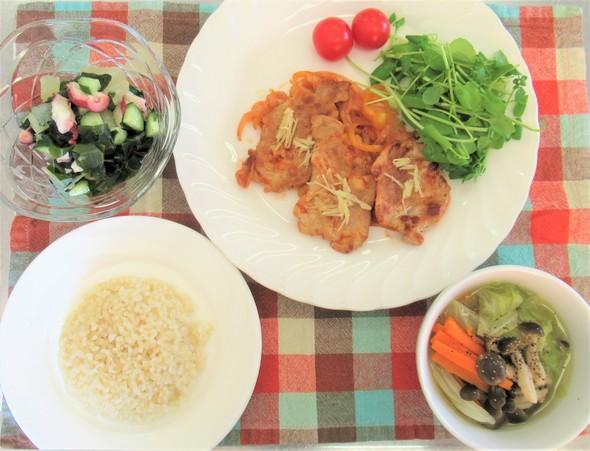 【減塩メニュー】主菜:お肉編
