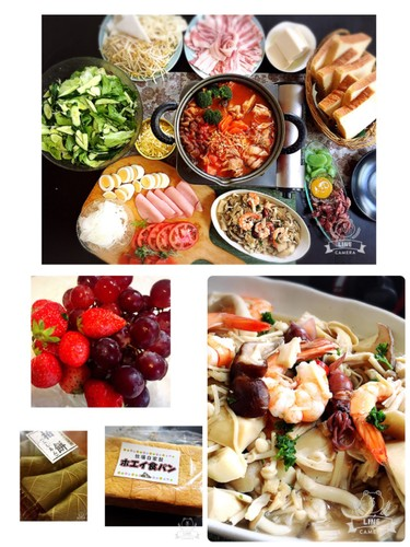 GWトマト鍋とサンドイッチパーティー日