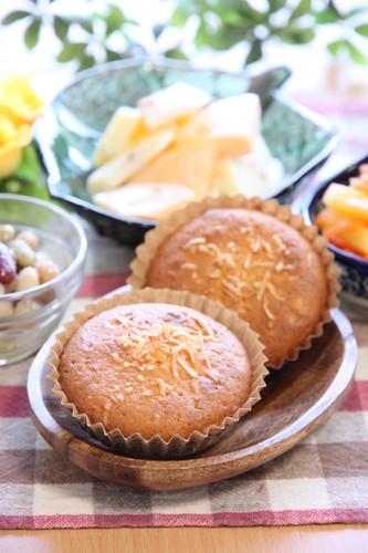 季節の果物で朝ごはん