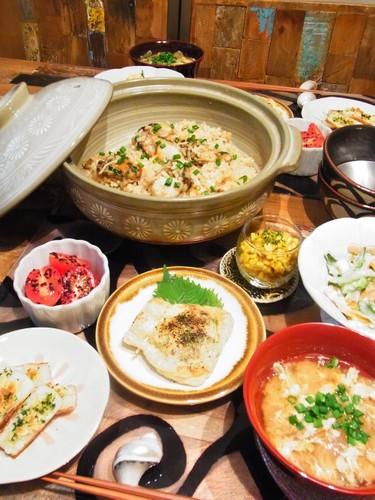 「牡蠣×柿」で旬な晩ごはん