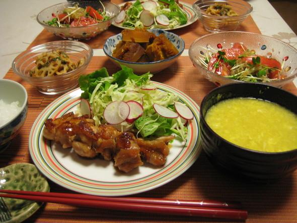 お肉を食べたい晩御飯⑯^^