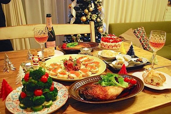 クリスマスディナー 2013