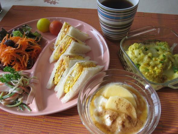 カラフルな朝食⑦♡^^