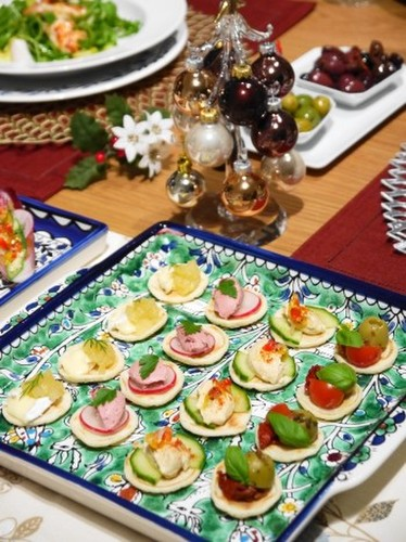 2013年・クリスマスディナーの前菜